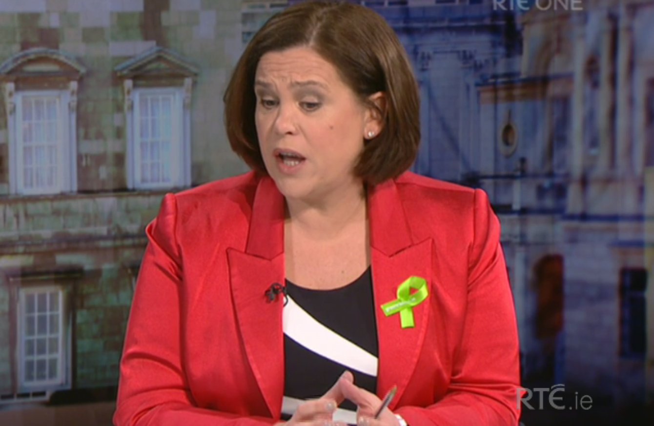 river 80 - Mary Lou McDonald says the State needs to get maternity hospital site 'by any means'