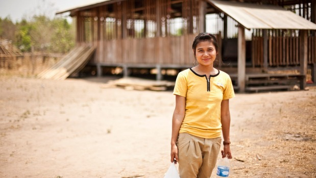 1493180125263 - Pizza and comedy means life changing education for Burmese children