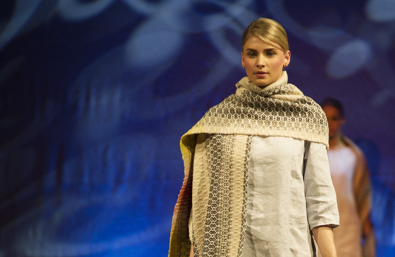 river 439 - This Mayo designer has won two awards for her handwoven, luxurious 'agriculture fashion'