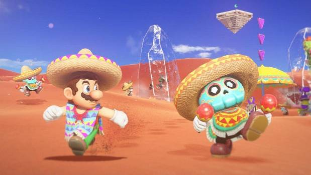 1509009428048 - Nintendo takes gaming to new levels with Super Mario Odyssey