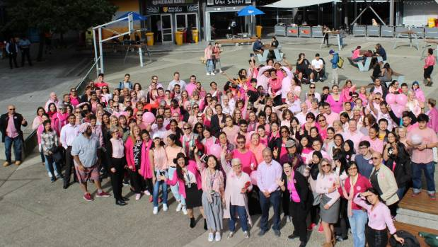 1526628071268 - University students and staff stand together against bullying