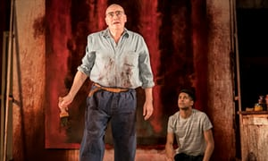 5685 - Red review – Alfred Molina's portrait is as layered as a Rothko canvas