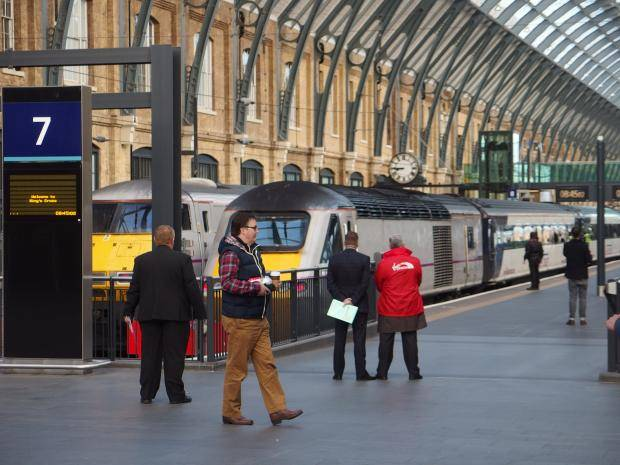 Kings Cross train v2 - East Coast Mainline renationalised by government after Virgin Trains deal terminated