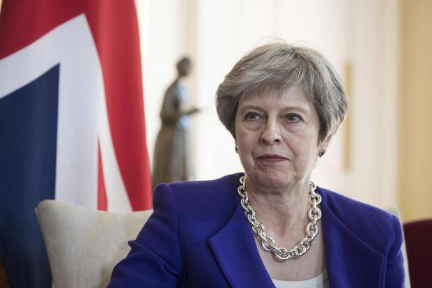 an148165989epa06739529 brit - Theresa May's 'arbitrary' visa scheme denies entry to thousands of foreign doctors, engineers and scientists with UK job offers