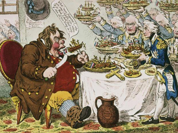 john bull gillray - Gammon: Why is the term being used to insult Brexiteers and where does Charles Dickens come into it?