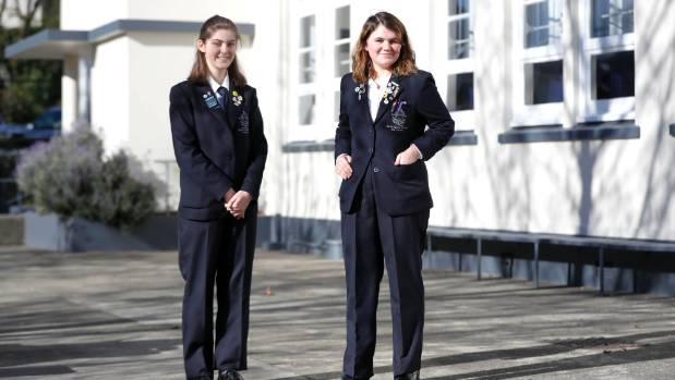 1528417438213 - Who wears the pants? Students at Nelson College for Girls can