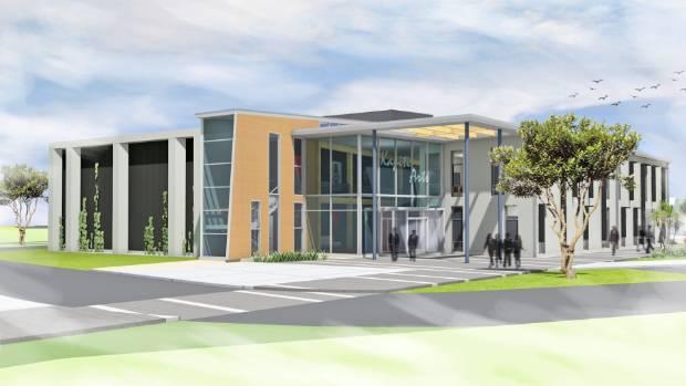 1529458712946 - Kāpiti's $10m performing arts centre starts to take shape