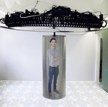 180425120208 1 540x360 1 - Move over Tupac! Life-size holograms set to revolutionize videoconferencing