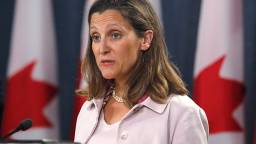 chrystia freeland - Freeland expected to unveil final list of Canadian levies over Trump steel tariffs on Friday