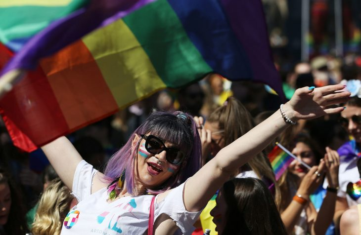 river 380 730x476 - PICTURES: Thousands take part in Dublin Pride Parade