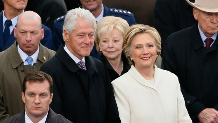 1531225495386 730x411 - Bill, Hillary Clinton surprise passengers by flying commercial to New York