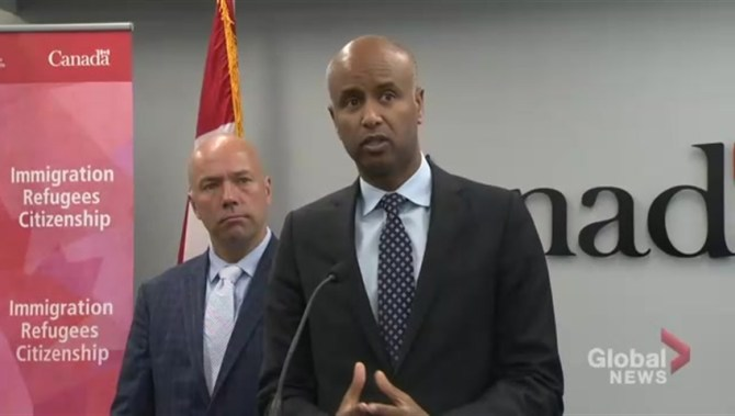 MON HUSSEN FORD 9718 848x480 1273290307808 - Ontario MPP Lisa MacLeod slams 'bully' Ahmed Hussen as immigration dispute heats up