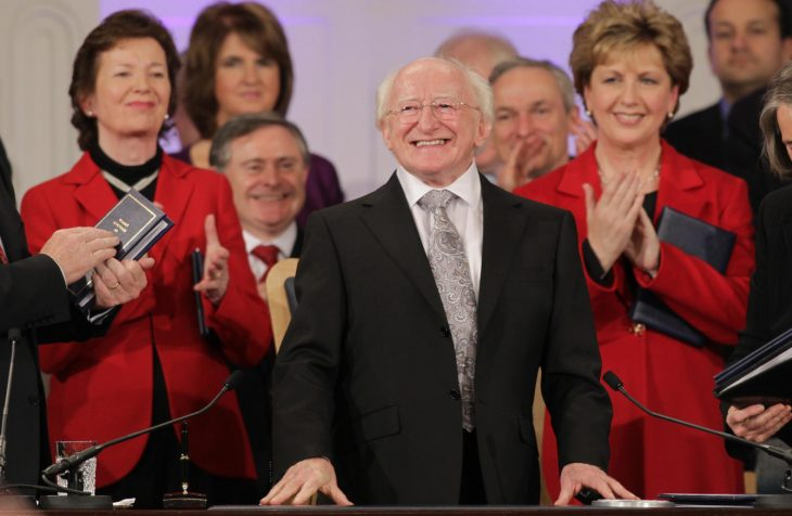 river 124 730x476 - Confirmed: Michael D Higgins says he WILL seek a second term as president