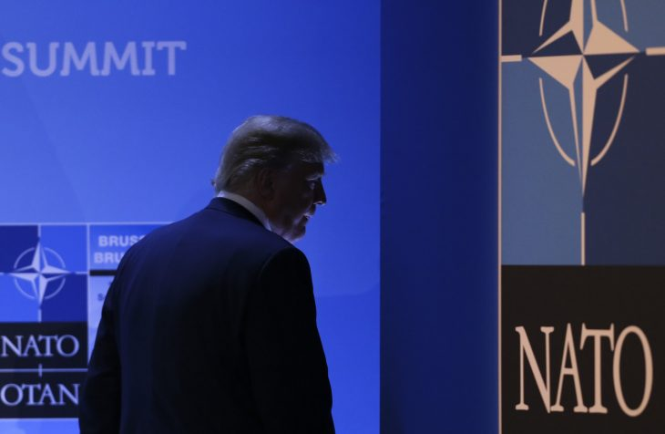 river 154 730x476 - Trump says US is committed to NATO after allies commit to increase their spending
