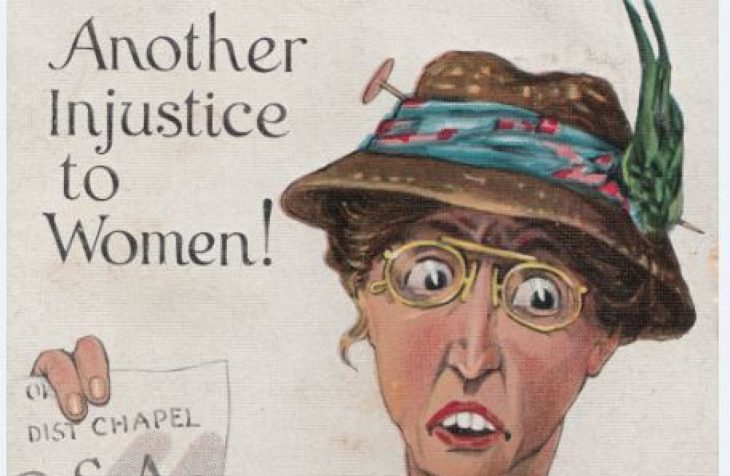 river 3 730x476 - Posters and postcards show how Irish suffragists were 'ridiculed and feared'